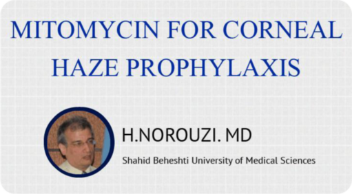 Mitomycin for Corneal Haze Prophylaxis